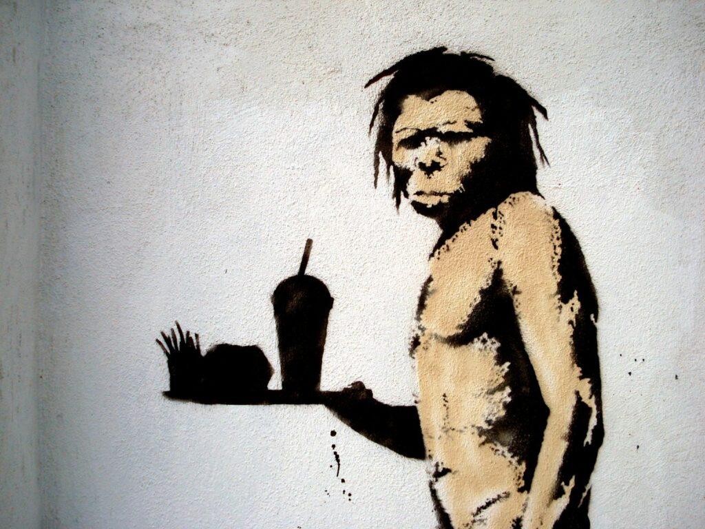 bansky_caveman